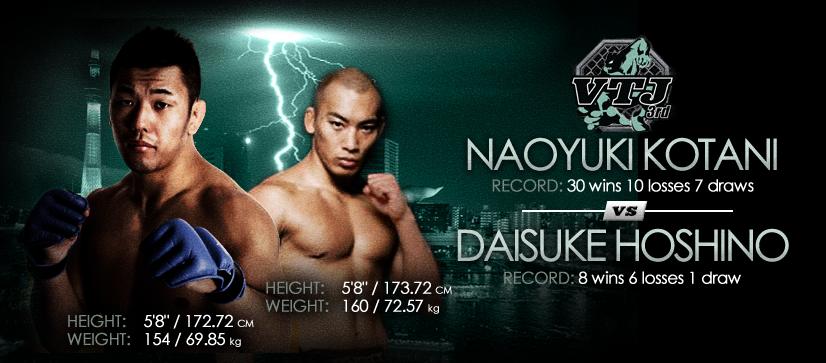 Naoyuki Kotani vs Daisuke Hoshino