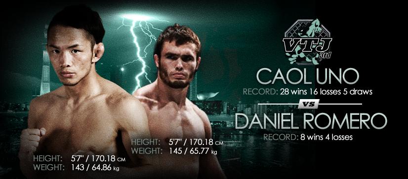 Caol Uno vs Daniel Romero