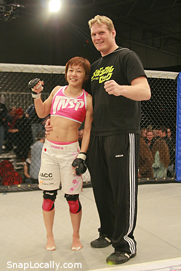Mega Megu and Josh Barnett