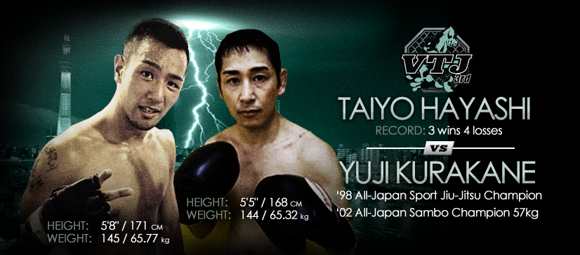 Taiyo Hayashi vs Yuji Kurakane