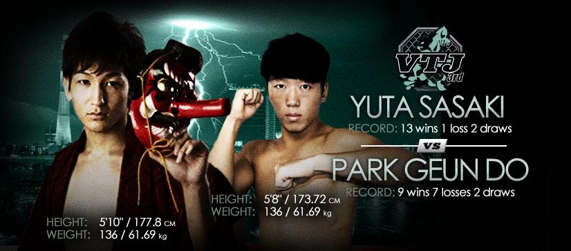 Yuta Sasaki vs Park Geun Do